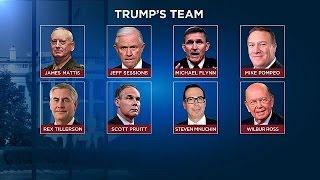 Los hombres de Donald Trump