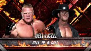 getlinkyoutube.com-WWE 2K16 (PS4) - Brock Lesnar vs The Undertaker Hell In A Cell Match Gameplay