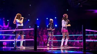 getlinkyoutube.com-Dina, Lola & Cecilia – 'Problem' | Battle | The Voice Kids | VTM