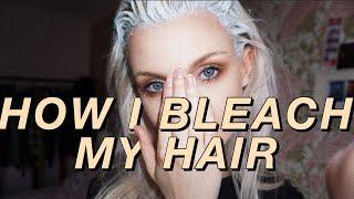 getlinkyoutube.com-HOW TO BLEACH YOUR HAIR!