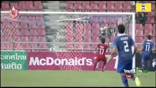 getlinkyoutube.com-Highlight Thailand u23  2-1 Cambodia u23 afc qualification 27/3/2015