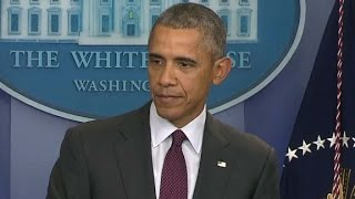 Obama, visibly upset, responds to Oregon shooting