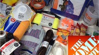 getlinkyoutube.com-Home Depot Urban Survival Kit: Bug Out Bag