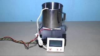 Homemade Nano Mini Chiller Peltier Fridge Frefrigerator Conditioner DIY GPU CPU Water Cooling Block