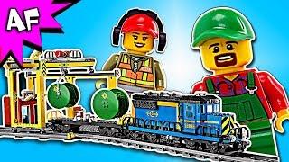 Lego City CARGO TRAIN 60052 Speed Build