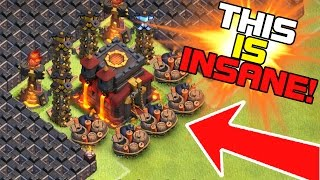 """getlinkyoutube.com-""""THE FUNNIEST TROLL BASE EVER MADE IN CLASH OF CLANS!?!""""   This Is Hilarious!!!!"""