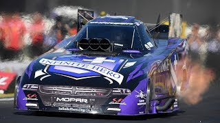 Jack Beckman leads the Funny Car category after Friday Qualifying in Pomona