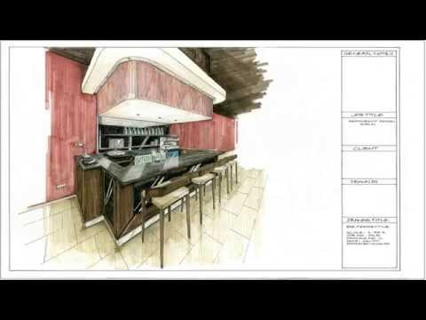 Interior Design and Interior Architecture (Restaurant Design)