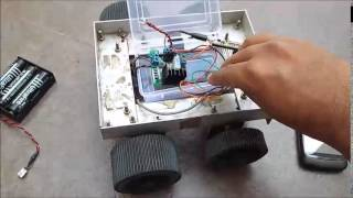 getlinkyoutube.com-ESP8266 Controlled Car / RC Bot (WiFi Internet-of-Things IoT) by SHiRiSH