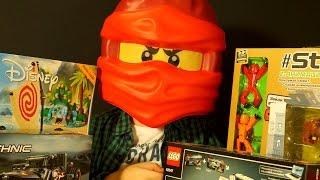 getlinkyoutube.com-Игрушки: StikBot, Мультик Дисней Моана, Лего Ниндзяго, Lego Technic - Видео для Детей