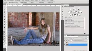 getlinkyoutube.com-Грамотное наложение текстуры в Фотошопе.avi