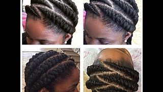 getlinkyoutube.com-TUTORIAL: BIG CORNROWS