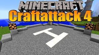 getlinkyoutube.com-Der Helikopter Landeplatz! - Minecraft Craftattack 4 Folge #75