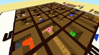 getlinkyoutube.com-Minecraft 1.8 MOVING LABYRINTH CHALLENGE MAP#1 with Vikkstar, PeteZahHutt & Logdotzip