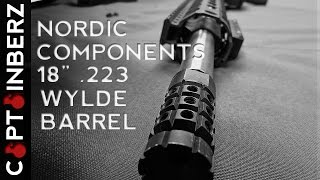 "getlinkyoutube.com-Nordic Components 18"" SPR .223 Wylde Match Barrel"