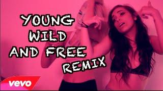 getlinkyoutube.com-Snoop Dogg x Wiz Khalifa - Young, Wild and Free REMIX | Dani Noe