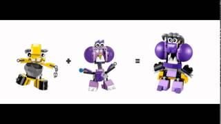 getlinkyoutube.com-Mixels series 6 lego mixes