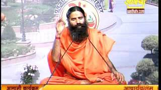 getlinkyoutube.com-Exercise for High Blood Pressure | Baba ramdev Yoga |