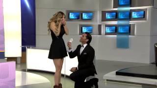 getlinkyoutube.com-Poncho de Nigris le pide matrimonio a Marcela Mistral