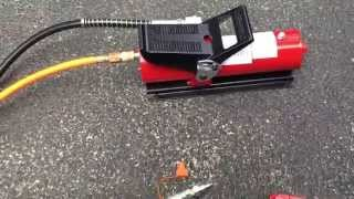 getlinkyoutube.com-10,000 PSI Air Hydraulic Control Foot Pump