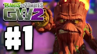 Plants Vs Zombies: Garden Warfare 2 Part 1 - MEET GRUMPY STUMPY! (PvZ GW 2 Ep 1 PC)