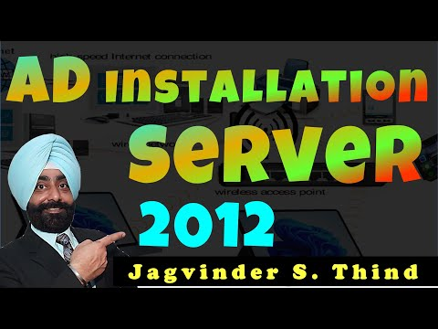 Server 2012 Part 14 Installing Active Directory ADDS Server Role