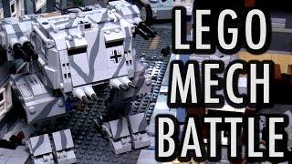 getlinkyoutube.com-LEGO WWII Mech Military Battle | Brickworld Chicago 2016