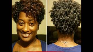 getlinkyoutube.com-Crochet braids with CURLKALON!!! I LOVE THIS HAIR!!