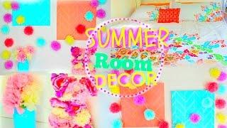 getlinkyoutube.com-DIY Summer Room Decor 2015 ♡ Tumblr & Pinterest Inspired!