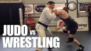 getlinkyoutube.com-Judo vs Freestyle Wrestling ✓ Awesome Grappling