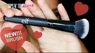 getlinkyoutube.com-NEW E.L.F. Cosmetics Selfie Ready Powder Brush Review & Demo