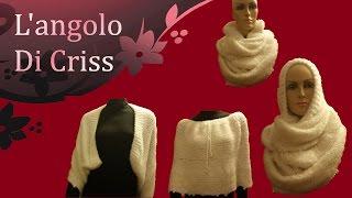 "getlinkyoutube.com-Sciarpa all'uncinetto "" Infinity & magic"" -  crochet  scarf - bufanda de ganchillo"