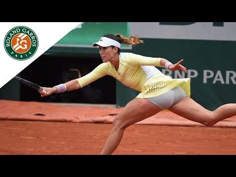 Muguruza v Stosur 2016 Roland-Garros Women`s Highlights - 1/2
