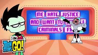 getlinkyoutube.com-The Backward Talk Game I Teen Titans Go! I Cartoon Network