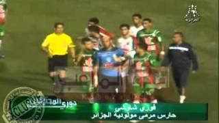 فوضى شاوشي و الجمهور في مباراة بجاية