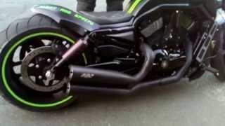 getlinkyoutube.com-Harley Davidson - Night Rod Special 2014 - AIRRIDE