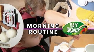 getlinkyoutube.com-VLOG • MORNING ROUTINE avec ASTERIX & ATHENA - Studio Bubble Tea unboxing
