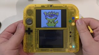 getlinkyoutube.com-[Unboxing] 2DS Special Pikachu Edition