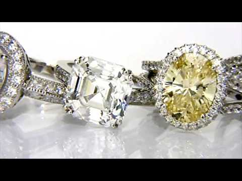CZ Engagement Rings, CZ Rings, Cubic Zirconia Engagement Rings