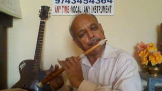 getlinkyoutube.com-CARNATIC CLASSICLE 'Lambodara' on  'FLUTE' by VISWANATH LS.