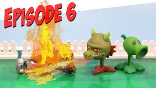 getlinkyoutube.com-Plants vs. Zombies Toy Play Episode 6 Snapdragon's Fire