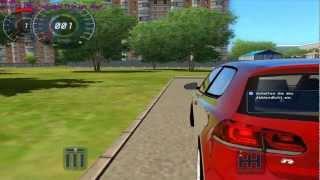 getlinkyoutube.com-City Car Driving 1.2.5 Volkswagen Golf R32 (G27)