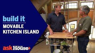 getlinkyoutube.com-Build It: Movable Kitchen Island