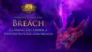 Path of Exile - Breach League Trailer