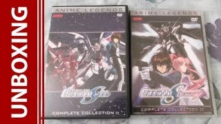 [anime unboxing] gundam seed + seed destiny collection