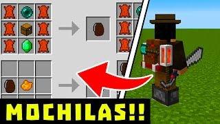 getlinkyoutube.com-YA SALIO! COMO TENER MOCHILAS PARA MINECRAFT POCKET EDITION 1.0 OFICIAL !