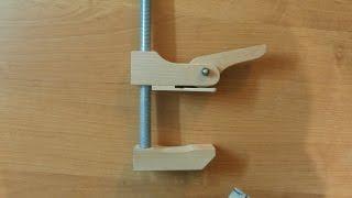getlinkyoutube.com-Самодельная быстрозажимная струбцина. Часть 3. Homemade quick clamp. Part 3.