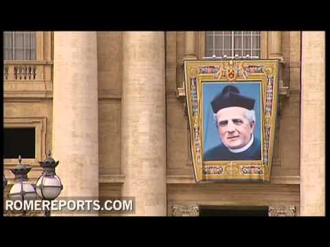 Vatican prepares for canonization of three new saints in Saint Peter's