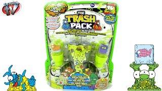 getlinkyoutube.com-The Trash Pack Series 5 Liquid Ooze Pack Toy Review, Moose