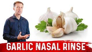 getlinkyoutube.com-How to do a Garlic Nasal Rinse / Great for Chronic Year Around Sinus Congestion